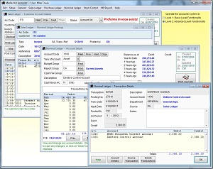 Adminsoft Accounts Screen shot