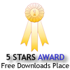 Adminsoft Accounts awarded 5 Stars on FreeDownloadSpace.com