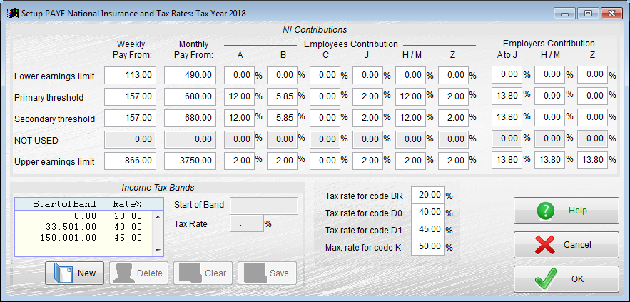 Free Payroll tax setup
